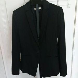 H&m size 10 black blazer